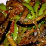 Вегетарианские блюда — Рецепт бабы Даши: Жареные баклажаны