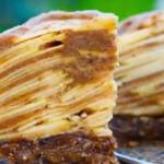 Сыроедческие рецепты. Рецепт яблочного пирога.